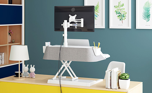 Aesthetic Sit Stand Workstation M6S