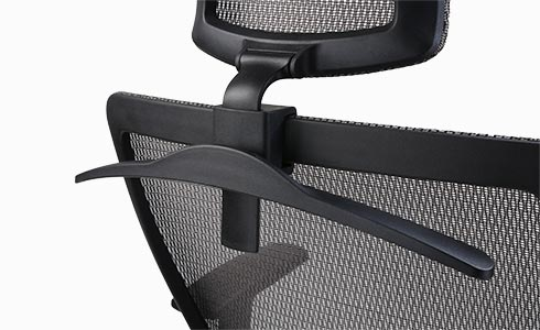 Adjustable lifting headrest