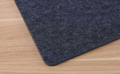 Flexispot modesty panel with acoustic wool material